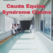 Cauda Equina Syndrome Claims